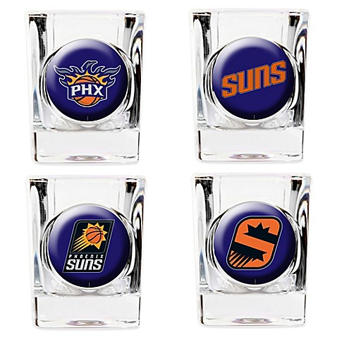 NBA Phoenix Suns Shot Glasses Set Of 4