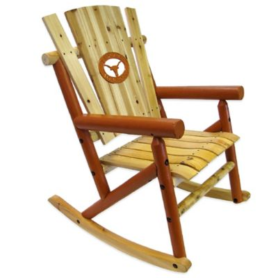 University of Texas Rocking Chair