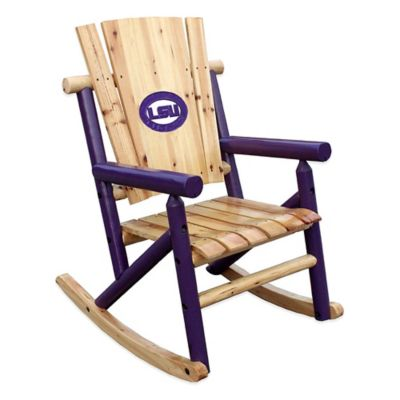 LSU Rocking Chair