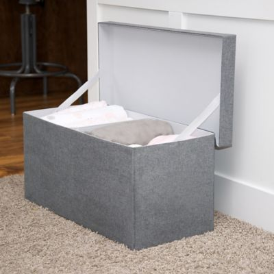 JJ Cole® Storage Bench in Slate Grey