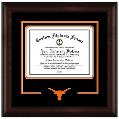 University of Texas Diploma Frame
