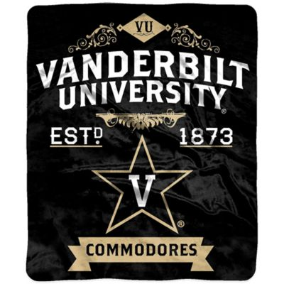 Vanderbilt University Raschel Throw