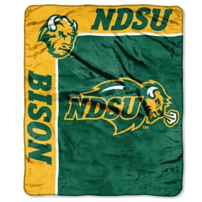 North Dakota State University Raschel Throw
