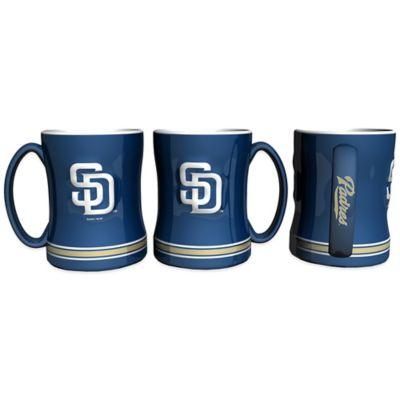 MLB San Diego Padres Sculpted Relief Mug