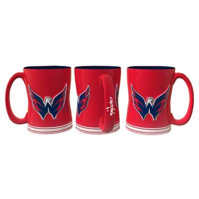 NHL Washington Capitals Sculpted Relief Mug