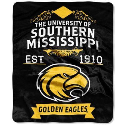 University of Southern Mississippi Raschel Throw