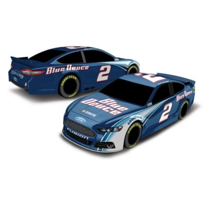 Brad Keselowski 2014 #2 Blue Deuce Plastic Toy Car - from NASCAR
