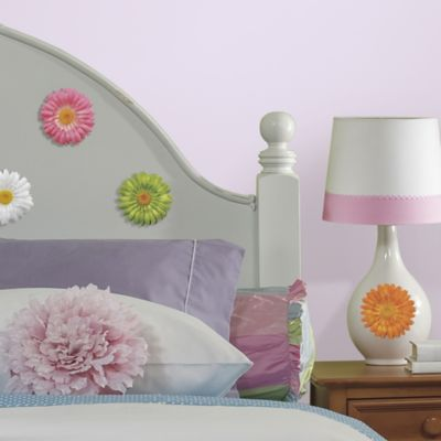 RoomMates Gerber Daisy Peel and Stick Wall Decals