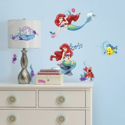 RoomMates Little Mermaid Peel & Stick Wall Decals