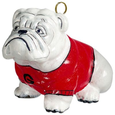 Joy to the World Collectibles University of Georgia Bulldog Christmas Ornament