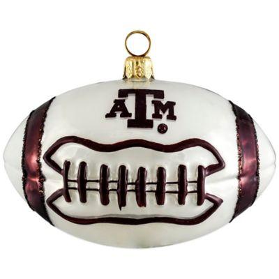 Texas A&M University Football Christmas Ornament