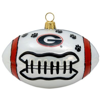 University of Georgia Football Christmas Ornament