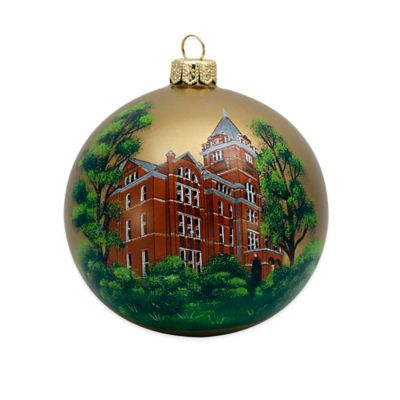 Joy to the World Collectibles Georgia Tech Tower Ball Christmas Ornament