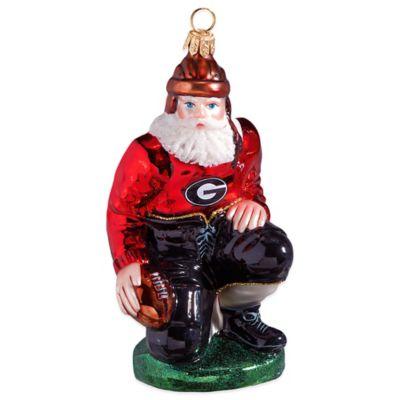 University of Georgia Ironman Football Player Christmas Ornament