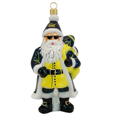 Joy to the World Collectibles University of California Berkeley Santa Christmas Ornament