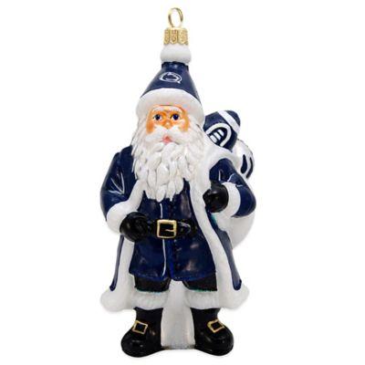 Penn State University Santa Christmas Ornament