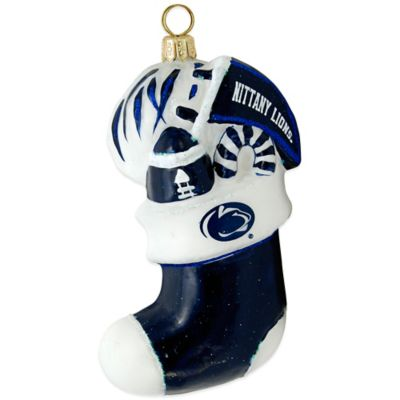 Penn State University Stocking Christmas Ornament