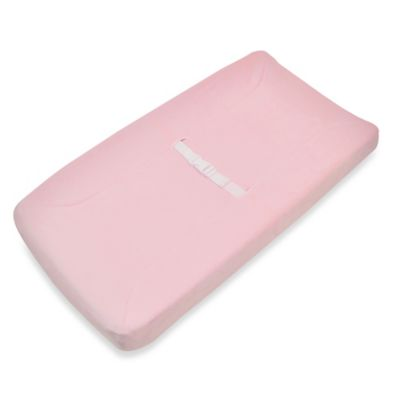 TL Care® Mix & Match Heavenly Soft Chenille Contoured Changing Pad Cover in Pink