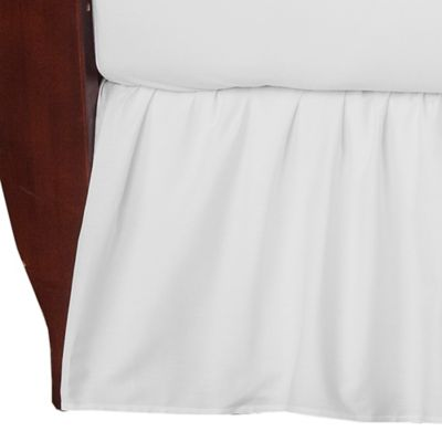 Crib Skirt in White