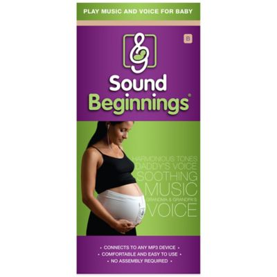 Sound Beginnings™ Prenatal Size B Sounds Delivery System in Nude