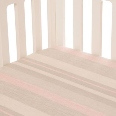 Glenna Jean Florence Fitted Crib Sheet in Stripe