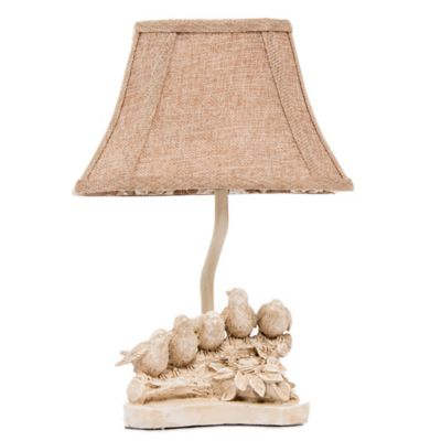 Glenna Jean Florence Birds on a Branch Table Lamp with Shade