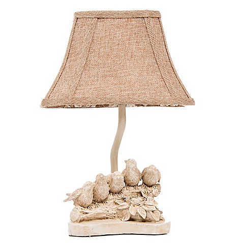 Glenna Jean Florence Birds On A Branch Table Lamp With
