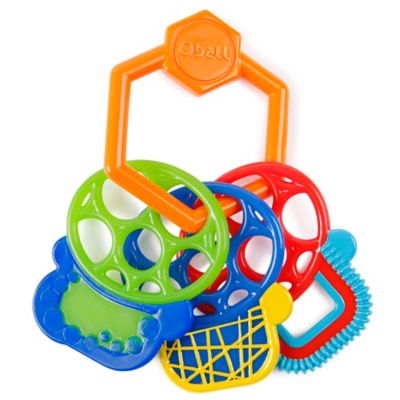 Oball™ Grip and Play™ Teether Keys