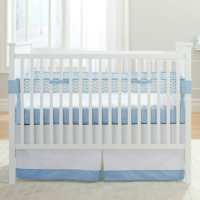Carter's® Mix & Match Fresh Air Crib Liner™ in Blue Chevron