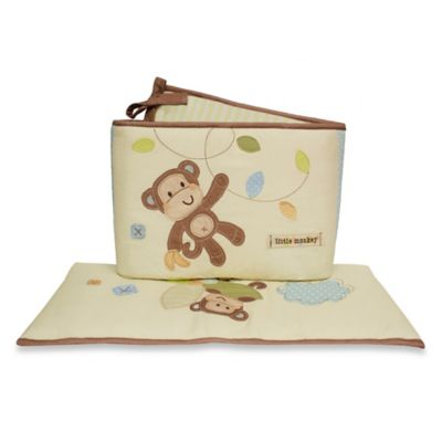 Little Haven Go Bananas Crib Bumper