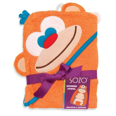 Sozo® Monkey Hooded Towel