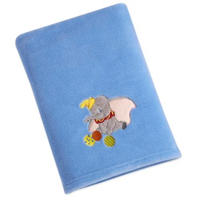 Disney® Dumbo Solid Applique Fleece Blanket