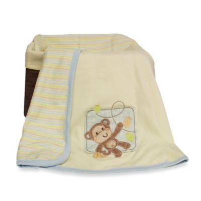 Little Haven Go Bananas Organic Knit Blanket