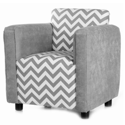 Glenna Jean Swizzle Child's Chair in Grey
