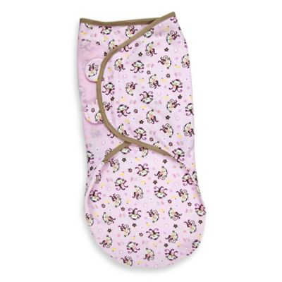 SwaddleMe® Large Cotton Swaddle in Jungle Hunnies