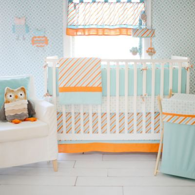 My Baby Sam Penny Lane 4-Piece Crib Bumper