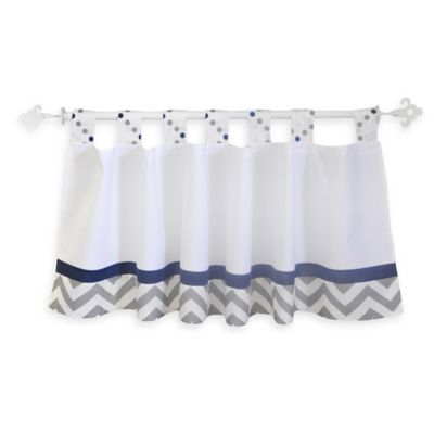 Blue/Grey Dots Baby Bedding