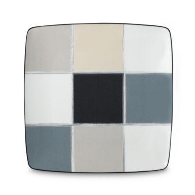 Noritake® Java Graphite 10 1/4-Inch Square Plate