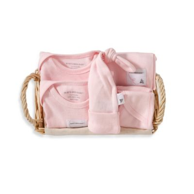 Burt's Bees Baby™ Size 0-3M 6-Piece Coming Home Gift Basket in Blossom