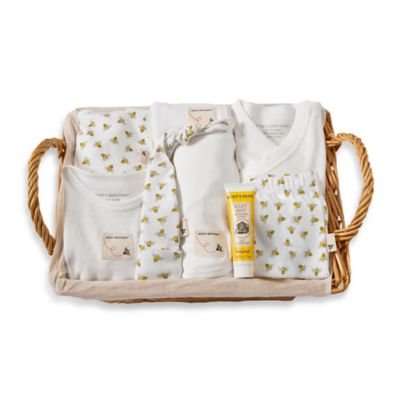 Burt's Bees Baby® Size 0-3M 9-Piece Take Me Home Gift Basket in Honeybee