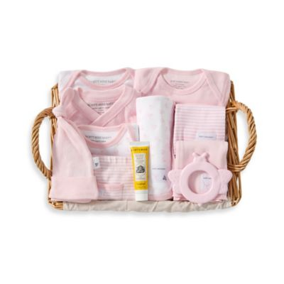 Burt's Bees Baby™ Size 3-6M 12-Piece Over the Top Gift Basket in Blossom