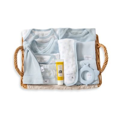 Burt's Bees Baby™ Size 3-6M 12-Piece Over the Top Gift Basket in Sky