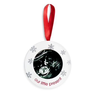 Sonogram Ornament - Our Little Present