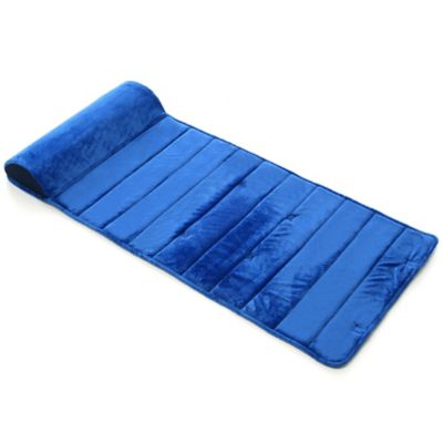 My First Toddler Nap Mat in Blue