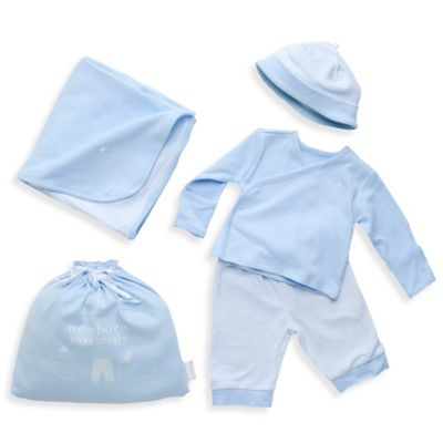 Elegant Baby® Newborn Take Me Home Set in Blue