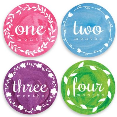 Sticky Bellies® Painted Pixie Milestone Stickers