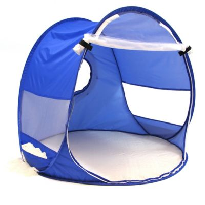 W.C. Redmond Beach Baby Pop-Up Shade Dome in Blue