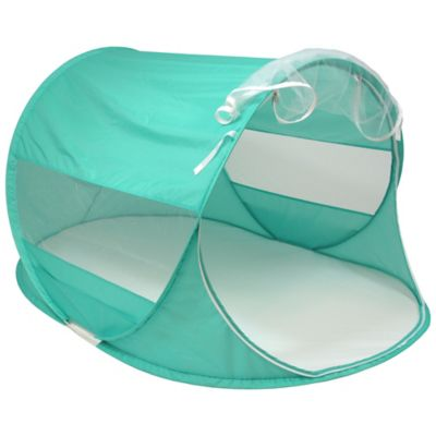 W.C. Redmond Beach Baby Pop-Up Shade Super Dome in Turquoise