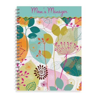 2015 6-Month Mom's Manager Spiral Engagement Planner