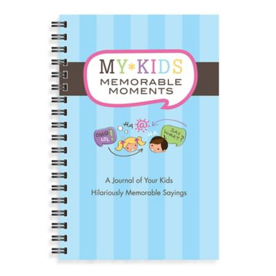 Kahootie Co® Memorable Moments Journal Notebook in Blue
